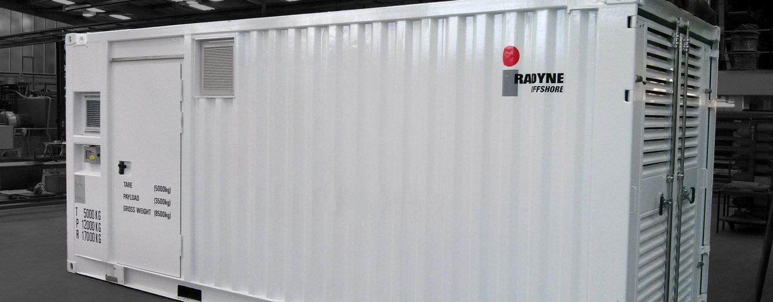 Radyne Offshore Containerised System (header)